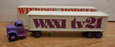 WXY tv21 Winross 1:64 Scale Diecast Truck & Tanker 101920DBT