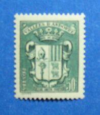 1943 ANDORRA FRENCH 50c SCOTT# 75 MICHEL # 85 UNUSED NH                  CA00020