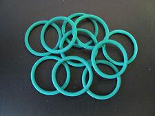 10 Stück O-Ringe Ø 14,0 x 1,5  VITON grün Dichtungsringe