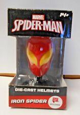 Marvel Spider-man Die-Cast Helmets Iron Spider 14+  627