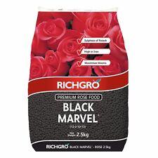 Black Marvel Rose Food 2.5kg Richgro Plant Fertiliser Organic Natural Fertilizer