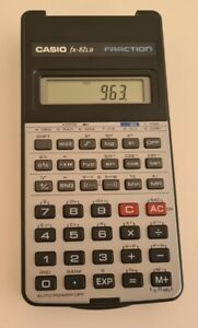 Casio fx-82LB Vintage Calculator