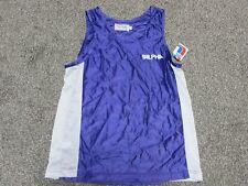 Vintage 80s Alpha Sportswear tank jersey shirt Mens Xl New purple white