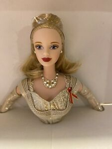 """1998 Toys """"R"""" Us Limited Edition Golden Anniversary Barbie Doll with COA New"""