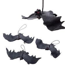 Halloween Props Rubber Bats Decor Halloween Party Hanging Decoration Adornment