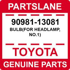 90981-13081 Toyota OEM Genuine BULB(FOR HEADLAMP, NO.1)