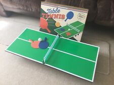 New listing Tabletop table tennis - used once