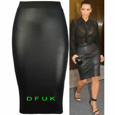 Knee-Length Polyester Hand-wash Only Plus Size Skirts for Women