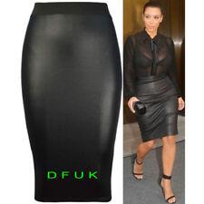 Gonne e minigonne da donna lunghezza lunghezza al ginocchio in poliestere taglia XL