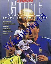 L'équipe Guide coupe du monde 2002 football Mundial Calendriers équipes