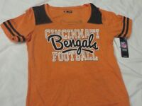 NFL Cincinnati Bengals Women's Orange Shirt/T-Shirt M/Medium NWT!