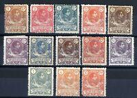 Sellos Guinea Española 1909 nº 59/71 Alfonso XIII colonias España Spain stamps