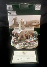 More details for lilliput lane - lead kindly light in winter church l2621 deeds boxed no lights