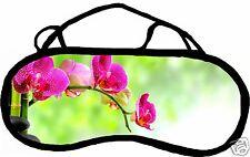 Masque de sommeil cache yeux anti lumière fatigue zen personnalisable REF 49