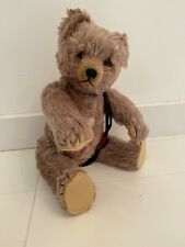 """Vintage Schuco Tricky """"Yes No"""" Teddy Bear 16"""" Mohair"""