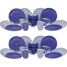 Vancasso 32-piece Porcelain Dinner Set Ceramic Tableware Dessert Plate Bowl Mugs