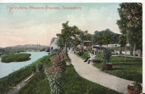 Gloucestershire Postcard - The Victoria Pleasure Grounds - Tewkesbury Ref TZ6160