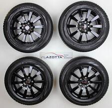 Borbet C2C Felgensatz, Schwarz Glanz, 8Jx18, LK 5x130, mit 255/55R18 Pirelli,Top