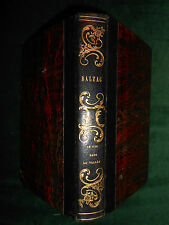 § Honoré de BALZAC, Le Lys dans la Vallée (1839) - Première édition in-12 §