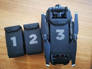 DRONES / DJI Mavic Air Battery NumberSticker Set