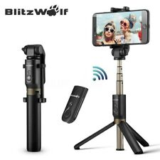 BlitzWolf 360° Selfie Stick Tripod Handheld Monopod Remote SHUT FOR APPLE IPHONE