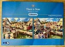 GIBSON 2 X 500 PIECE JIGSAWS - THEN & NOW