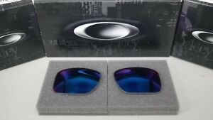 NEW Oakley HOLBROOK METAL + RED IRIDIUM OO4123 Replacement Lens Authentic