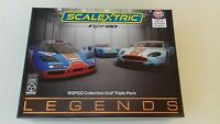 ROFGO COLLECTION GULF TRIPLE PACK LTD EDTION C4109A SCALEXTRIC BN MB