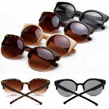 Fashion Women Retro Cat Eye Round UV400 Shades Sunglasses Glasses Eyewear YK