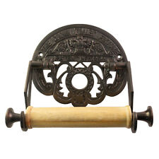 The Crown Toilet Paper Holder Fixture English Aged Bronze Old British Style