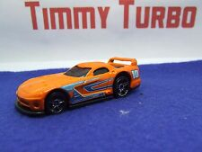HOT WHEELS DODGE VIPER GTS R Corsa In Arancione 75 mm di lunghezza