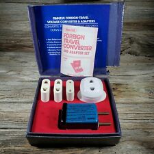Franzus Electric Current Converter Kit Ca-5 Foreign Travel Voltage Adapter