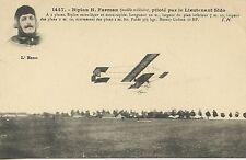 CARTE POSTALE / POSTCARD / AVIATION / BIPLAN H.  FARMAN PILOTE PAR SIDO