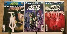 GREEN ARROW 1-47, Rebirth 1, Annual 1-2 (vol 7, Black Canary, Batman Who Laughs)