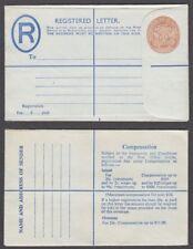 JAMAICA REGISTERED POSTAL STATIONERY ENVELOPE (ID:621/D49585)