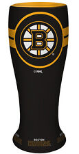 2 lot BOSTON BRUINS CERAMIC MINI TEAM LOGO PILSNER GLASSES YOUGET2!