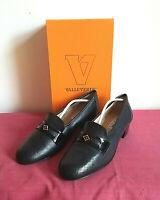 Valleverde Modello Martina, scarpe donna in vera pelle, colore Nero N°40
