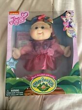 "JoJo Siwa Cabbage Patch Kids Doll 14"" Plush Birth Certificate New"