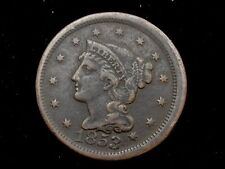 1853 Braided Hair Large Cent * Nice Early Type Coin *