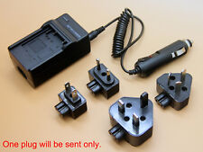 3in1 Battery Charger for DB-L80 Sanyo Xacti VPC-CA102 VPC-CS1 VPC-CG10 VPC-CG100