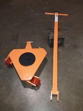 W&J 3ton Turing Type Machine Skate/ Moving Skate with 3 Swivel Castors