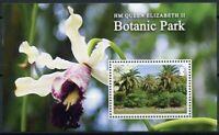 Cayman Isl Flowers Stamps 2020 MNH Queen Elizabeth II Botanic Park Orchids 1v MS