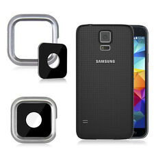 Camera Glass Lens Cover Replacement For Samsung Galaxy S5 i9600 G900 G9005 WSd