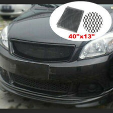 Car Accessories Black Grille Mesh Aluminum Rhombic Auto Vent Grill Universal