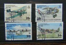 BIOT 1993 75th Anniversary of Royal Air Force RAF set Used