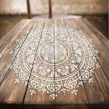DIY Craft Mandala Stencils For Painting On Wood Fabric Wall Art And Scrapbooking