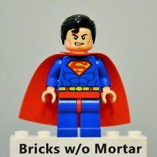 New Genuine LEGO Superman Minifig DC Super Heroes 6862
