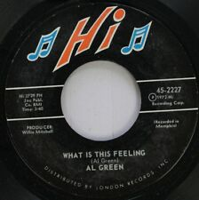Soul 45 Al Green - What Is This Feeling / You Ought To Be With Me On London Reco