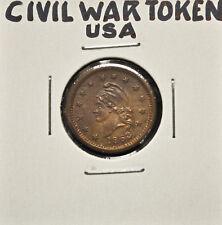 1863 United States Civil War Token - Wilson's Medal