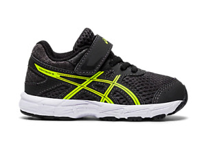 ASICS 1014A085.023 CONTEND 6 TS Inf`s (M) Graphite Grey/Yell Mesh Athletic Shoes